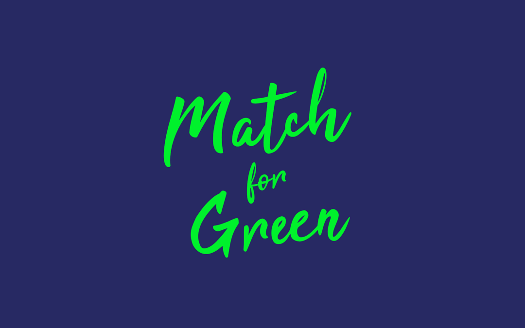 Le MEHB rejoint le mouvement Match For Green