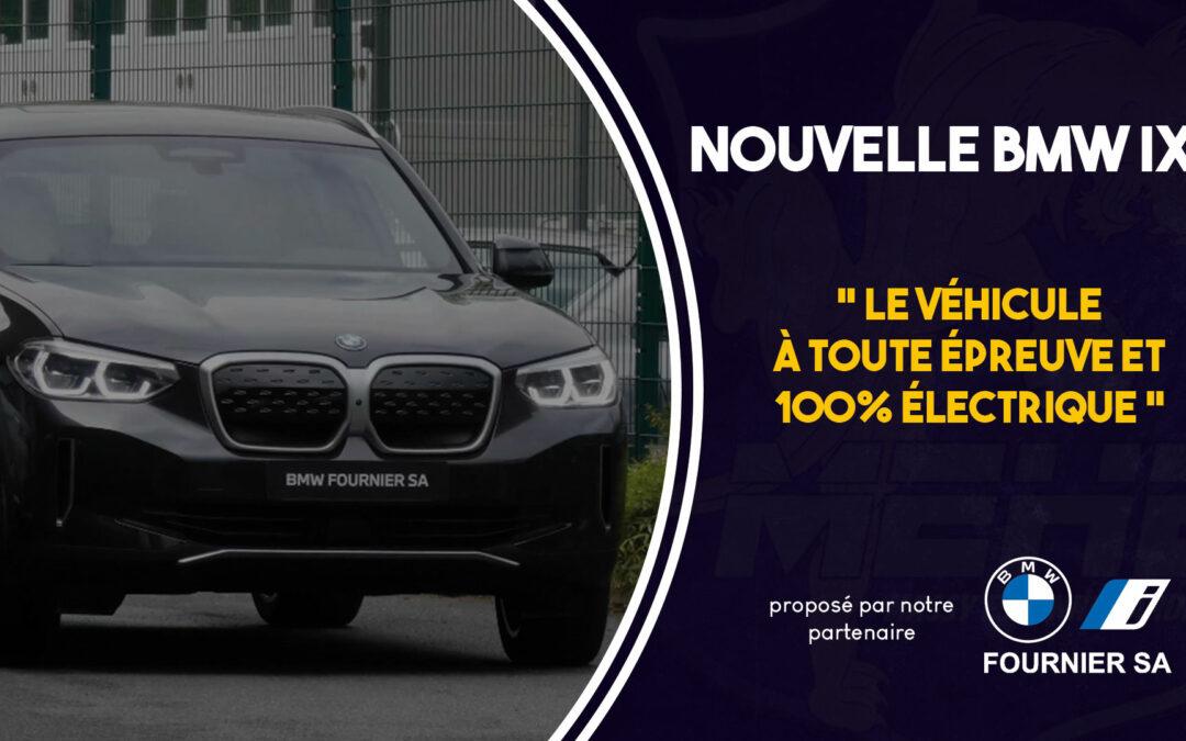 La nouvelle BMW Ix3, 100% électrique